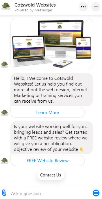 Cotswold Websites Chatbot
