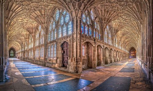 The Cloisters at Gloucester Cathedral - Cotswold Websites