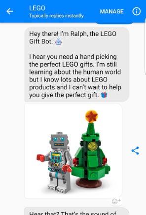 Lego Chatbot Ideas