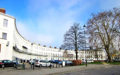 Royal Crescent, Cheltenham - Web Design By Cotswold Websites