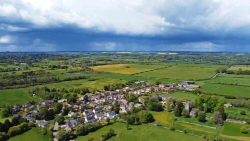 A Gloucestershire Village In The Cotswolds