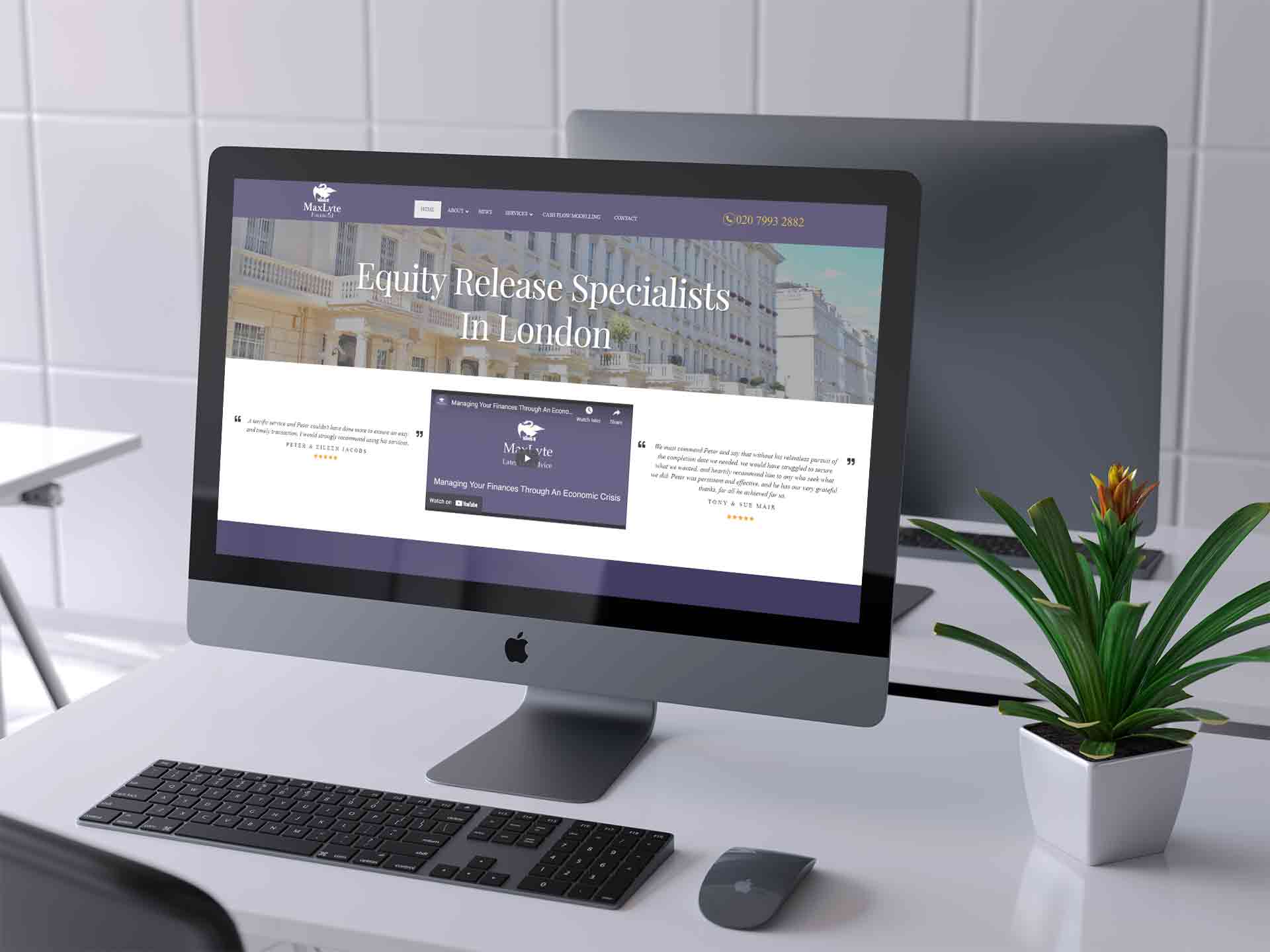 Web Design For IFAs