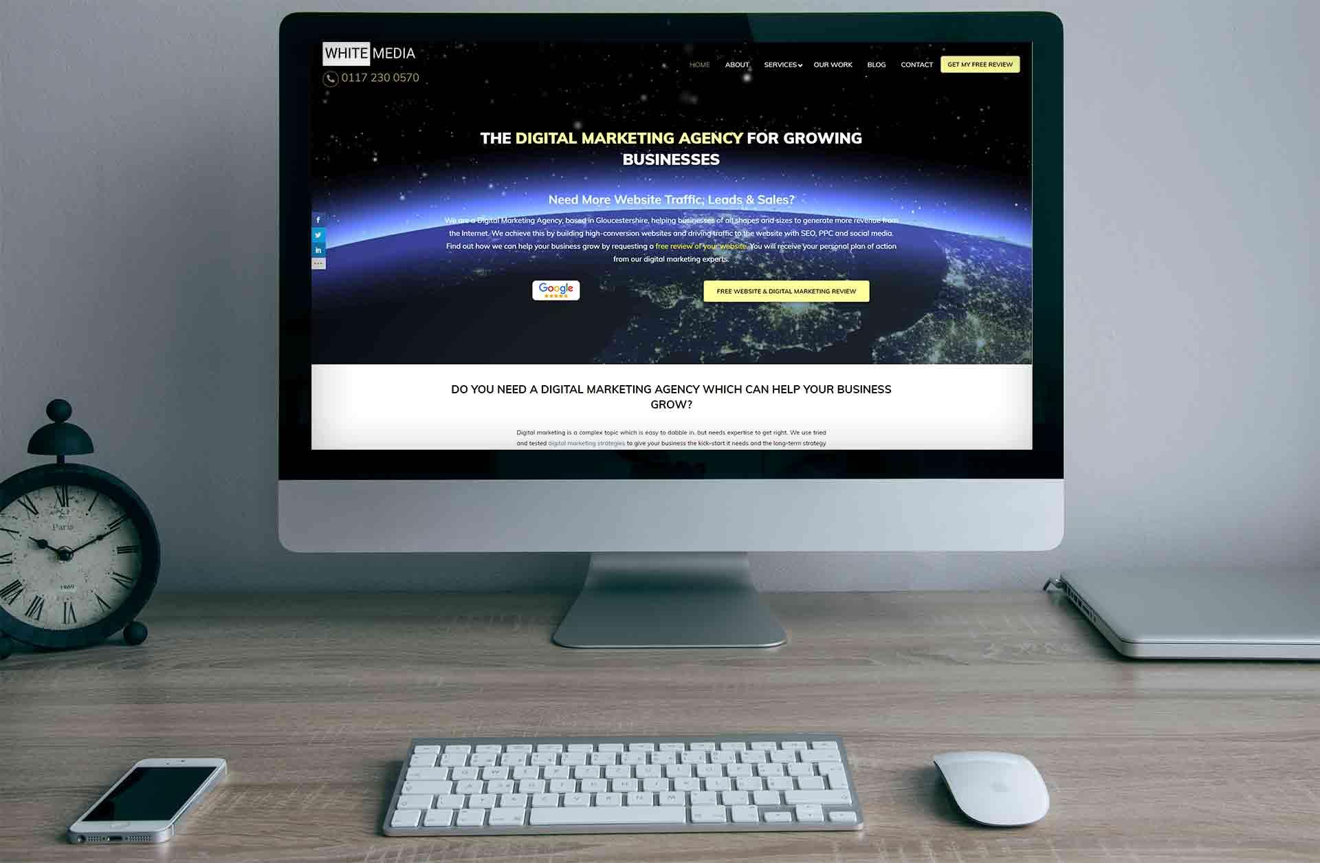 Web Design For Internet Marketing Agencies