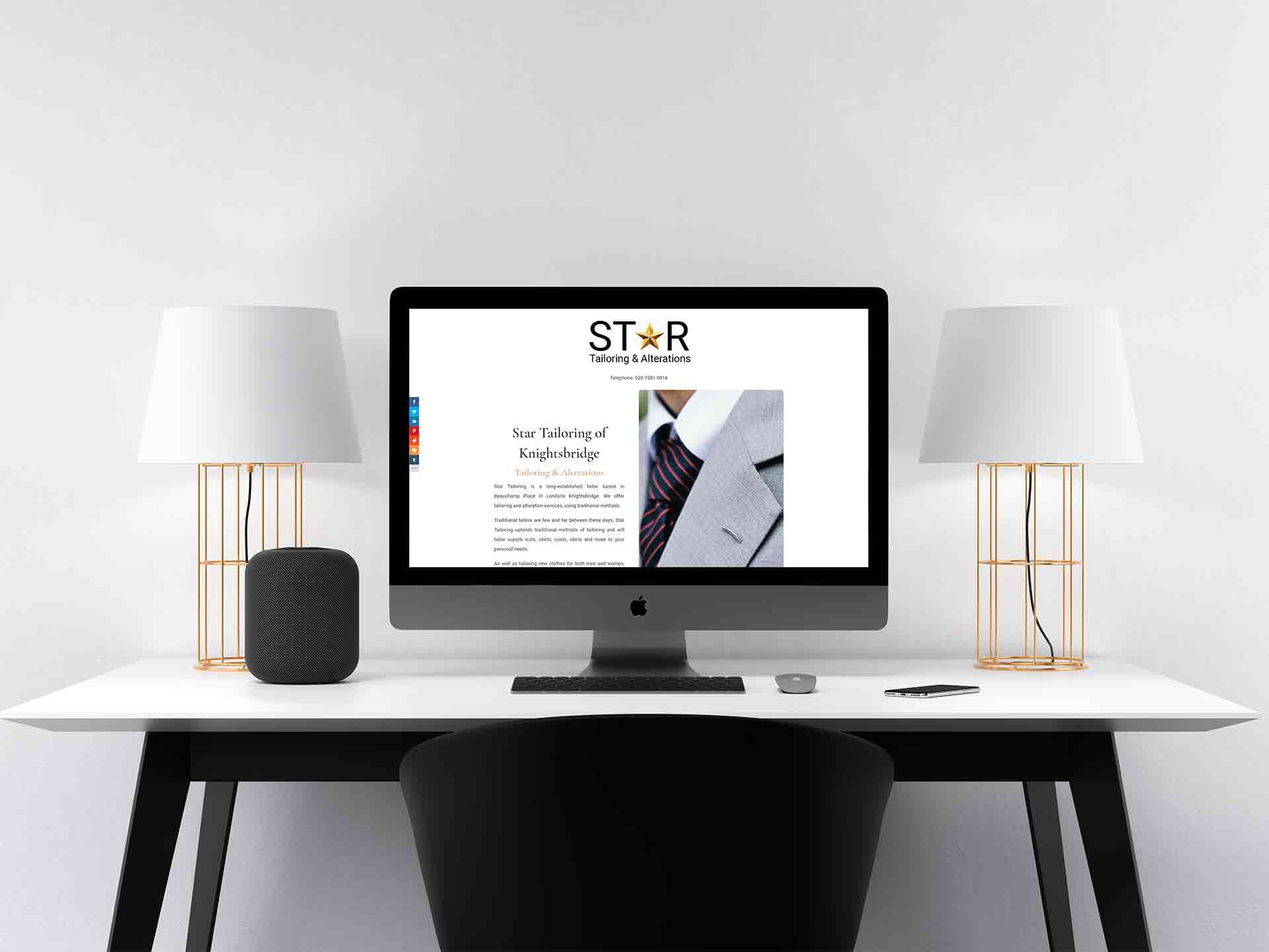 Web Design For Tailors