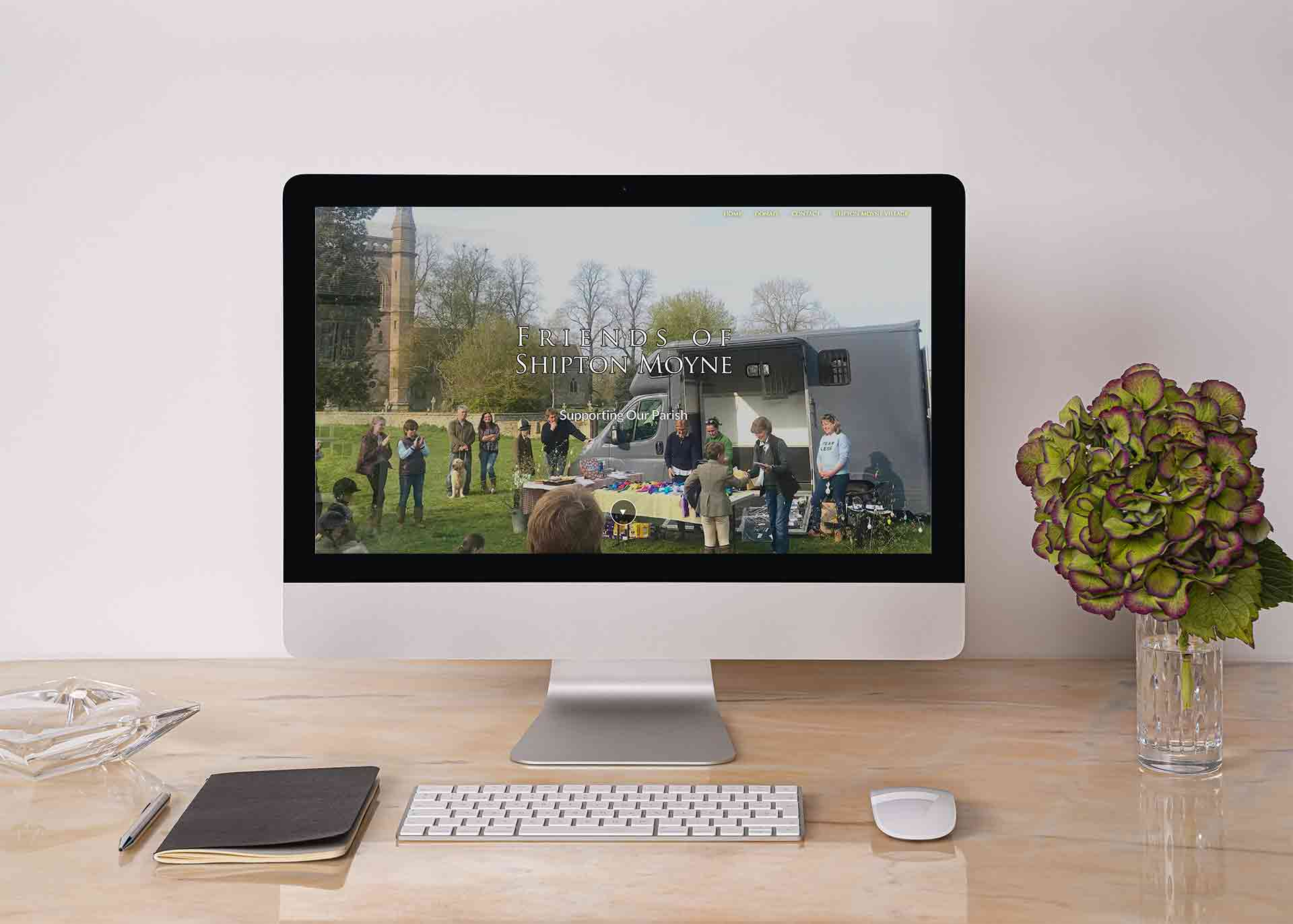 Web Design For Local Charities